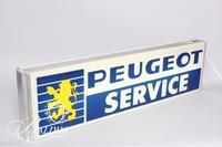 Vintage Electric Peugeot Service Sign, Lima Ohio