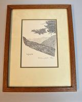Collection of Assorted Art Mediums Including Linocut, Pencil and Lithograph