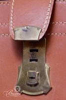 Solid 6oz. Top Grain Cowhide Personalized Briefcase