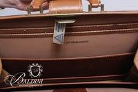 Solid 6oz. Top Grain Cowhide Personalized Briefcase