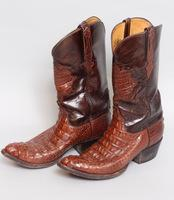 Lucchese Handmade Alligator Boots Size 9.5