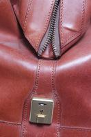 "Swaine Adeney Brigg Leather ""Hold All"" Weekend Bag"