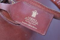 """Swaine Adeney Brigg Leather """"Hold All"""" Weekend Bag"""