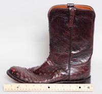 Lucchese Handmade Ostrich Boots Size 10.5