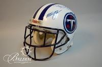 Autographed Titans Helmet from 2000