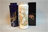 (3) Asian Theme Vases