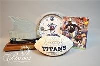 Tennessee Titans and Kansas City Chiefs Sports Memorabilia