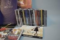 CD Collection with Various Artists
