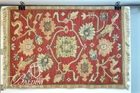Hand Knotted Foliate Accent Rug