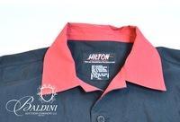 Hilton Bowling Shirt with Flames, Size XL