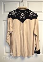 """""""Manuel"""" Custom Western Shirt, Size Large"""
