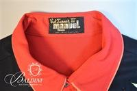 """Manuel"" Custom Shirt Made for Cal Turner, III with Embroidery and Snap Closures"