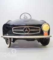 Antique Metal Mercedes Peddle Car