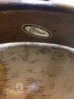 Vintage Brandt World Globe on Wood Stand