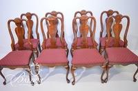 (8) Queen Anne Style Chairs