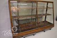 "Antique ""Mor-Show-Cases"" Glass Front Display Case"