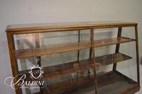 """Antique """"Mor-Show-Cases"""" Glass Front Display Case"""