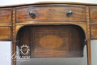 Important George II 1750 Sideboard with String Inlay and Bottle Drawer with Cellarette