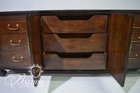 Asian Dresser by Drexel Heritage with Trifold Mirror