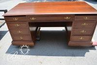 Solid Wood Traditional Office Desk