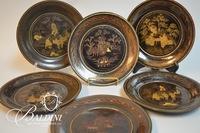 Asian Export Plates and Laquerware