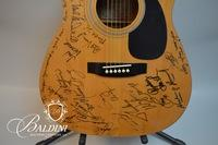 Takamine 6 Series Autographed Guitar