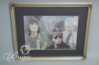 Haiyan Wang Framed Print Depicting Rolling Stones