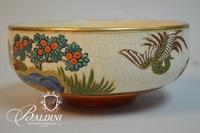 Hand Painted Asian Bowl
