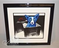 """George Rodrigue (American/Louisiana 1944-2013) """"Unplugged and Let Loose"""" 1995 Silkscreen #50 in a Limited Edition of only 100, Artist Signed"""