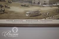 """Union Station Nashville, TN"" Engraving"