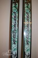 """1993 K2 """"Panther Dream"""" Grateful Dead Skis"""