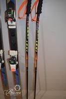 Volant Skis and Swiss Ski Poles