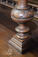 Large French Heavily Carved Breakfront
