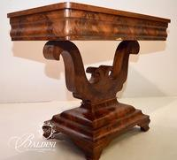 Empire Flame Mahogany Console Table