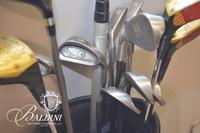 Golf Clubs and Belle Meade Country Club Bag