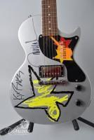 "Collector's ""Stars & Guitars"" Epiphone Guitar Signed by Brooks & Dunn"