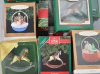 1980's and 90's  Hallmark Ornaments in Box, Approx.32