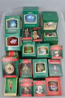 1980's  Hallmark Ornaments in Box, Approx. 48