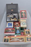 1980's  Hallmark Ornaments in Box, Approx. 42