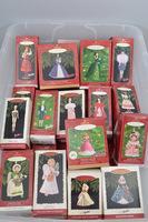 1990's Hallmark Ornaments in Box, Approx. 42