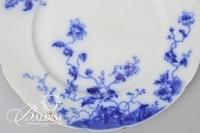 (5) Flow Blue Plates