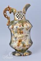 Majolica Style Pitcher/Vase