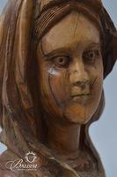 Hand Carved Woman With Veil