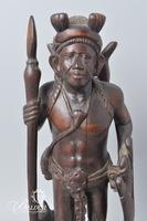 African Wood Tribal Carving