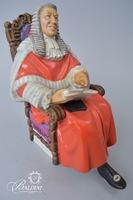 """Royal Doulton """"The Judge"""" """"Alison"""" and """"Goody Two Shoes"""" Porcelain Figures"""