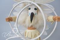 """Hoop Dancer"" Kachina Doll, Artist Signed"