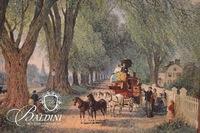 "Zapigni ""Village Scene"" Framed Offset Lithograph"