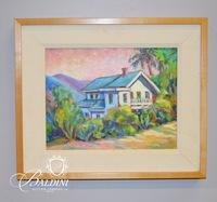 Lori Johnson '94 Framed Oil on Canvas, Signed
