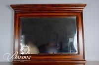 Legacy Brand Mirrored Walnut Dresser