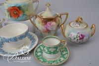 Cream and Sugar Bowl Assortment, including Noritake, Limoges, Germany